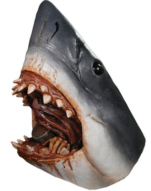 Realistische latex haai masker