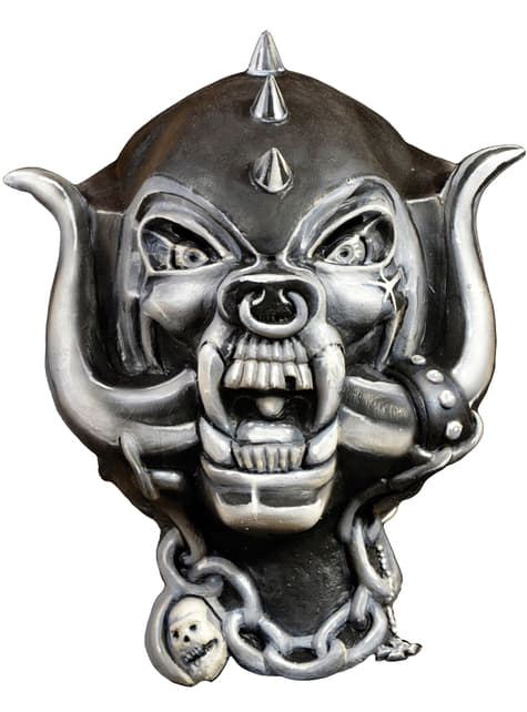 Latexová maska Warpig Motorhead