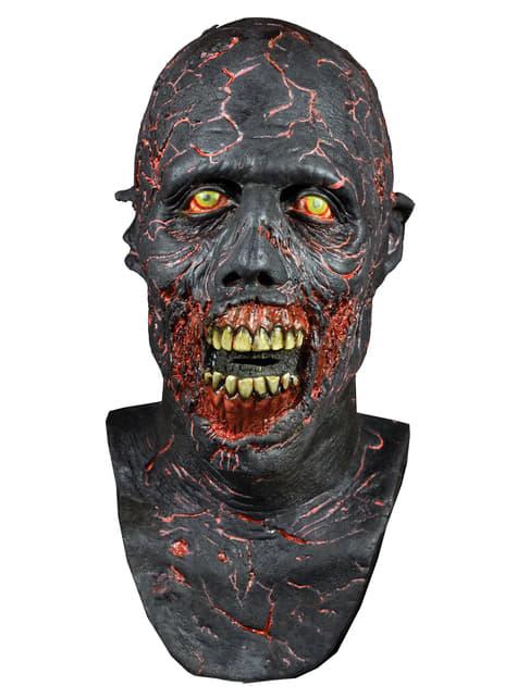 Máscara de Caminante Carbonizado de The Walking Dead de látex