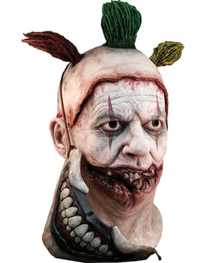 Máscara Twisty the Clown American Horror Story com boca de látex