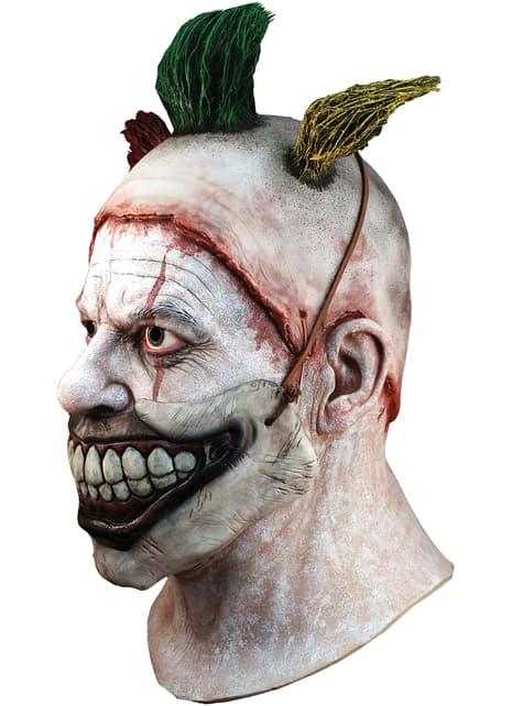 アメリカン・ホラー・ストーリー ピエロのツイスティーの口があるラテックスマスク