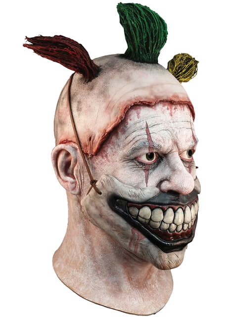 Maska Twisty the Clown American Horror Story z lateksową buzią