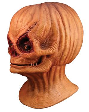 Máscara de latex de Espantalho sem capuz Demónio Sam