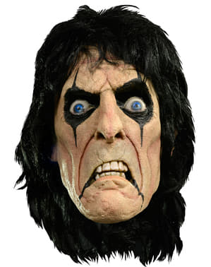 Máscara de Alice Cooper de látex