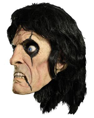 Máscara de Alice Cooper em látex