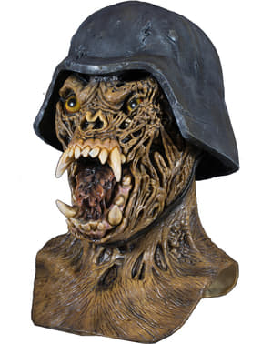 Máscara Waremonger Un hombre lobo americano en Londres de látex