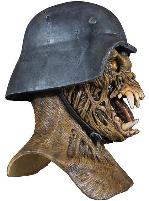 Máscara Waremonger Un hombre lobo americano en Londres de látex - original
