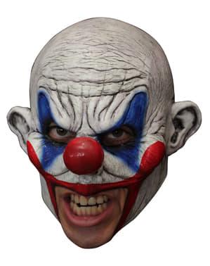 Máscara Clooney Clown de látex