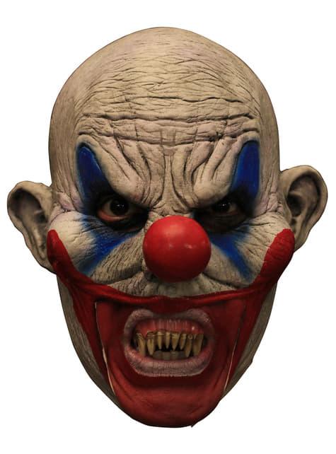 Máscara Clooney Clown de látex - para tu disfraz