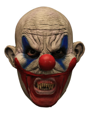 Clooney Clown latex mask