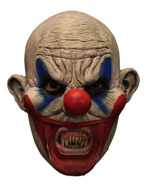Máscara Clooney Clown em látex