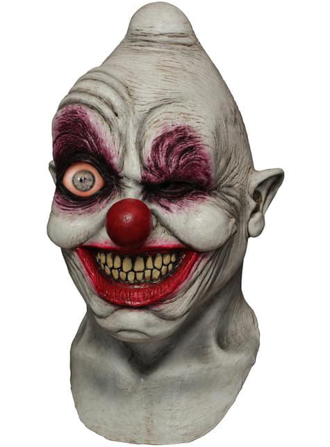 Máscara digital Crazy Eye Clown de látex