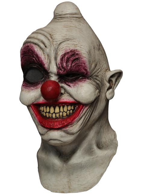 Máscara digital Crazy Eye Clown de látex - para tu disfraz