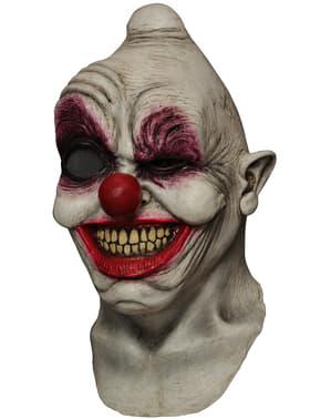 Maska lateksowa Crazy Eye Clown