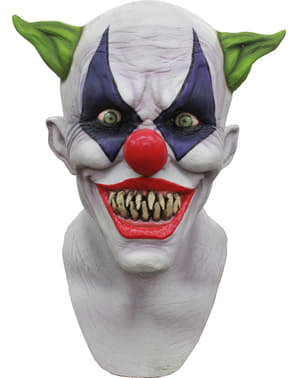 Creepy Giggles Clown Maske aus Latex