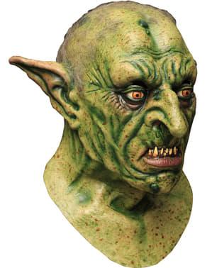Latexová maska zelený skřet