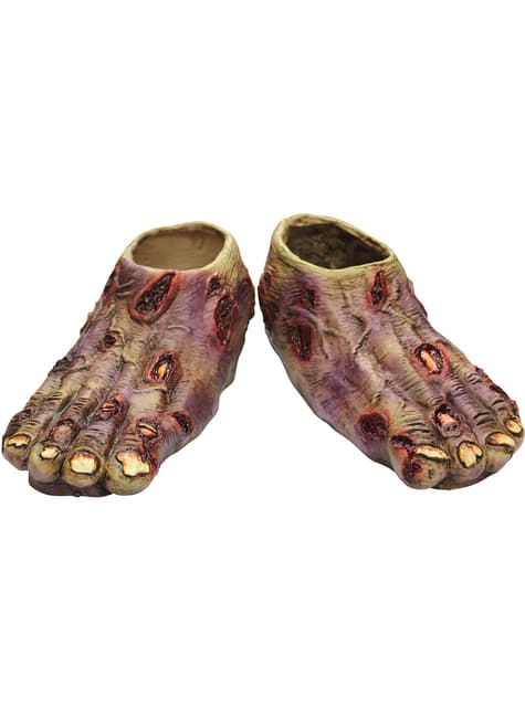 Zombie Junior Undead latex boot covers
