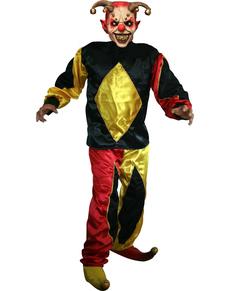 Disfraz de Arlequín Demoníaco