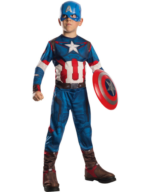 Avengers Age of Ultron Captain America costume for a child