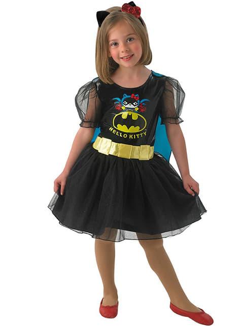 Disfraz de Batgirl Hello Kitty para niña