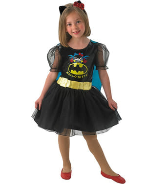 Batgirl Hello Kitty costume for a girl