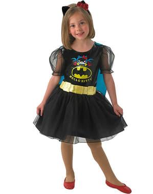 Costum Batgirl Hello Kitty pentru fată