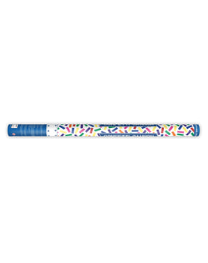 Confetti Cannon with Multicolor Serpentine, 80cm