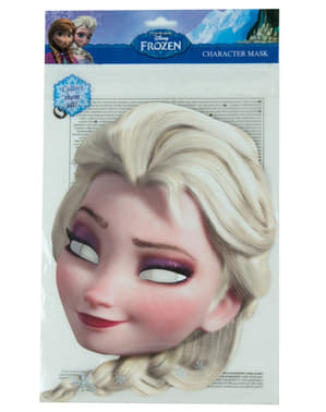 Máscara de Elsa Frozen: o reino do gelo para menina