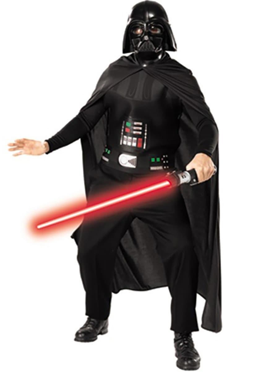 costume dark vador avec p e star wars adulte funidelia. Black Bedroom Furniture Sets. Home Design Ideas
