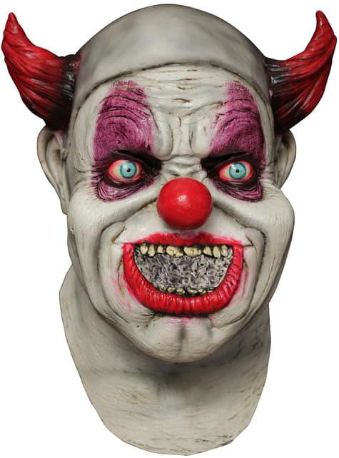 Máscara digital Maggot Clown Mouth de látex