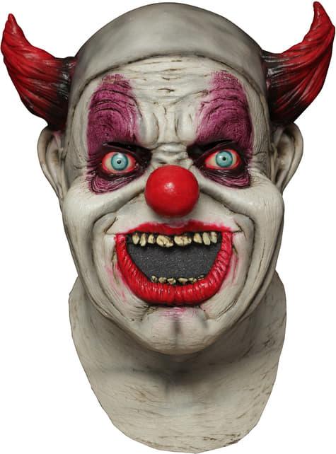 Máscara digital Maggot Clown Mouth de látex - para tu disfraz