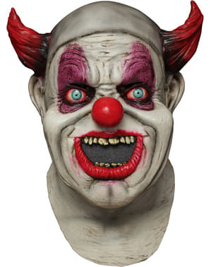 Masque digital Maggot Clown Mouth en latex