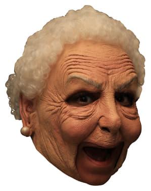 Latexová maska babička deluxe