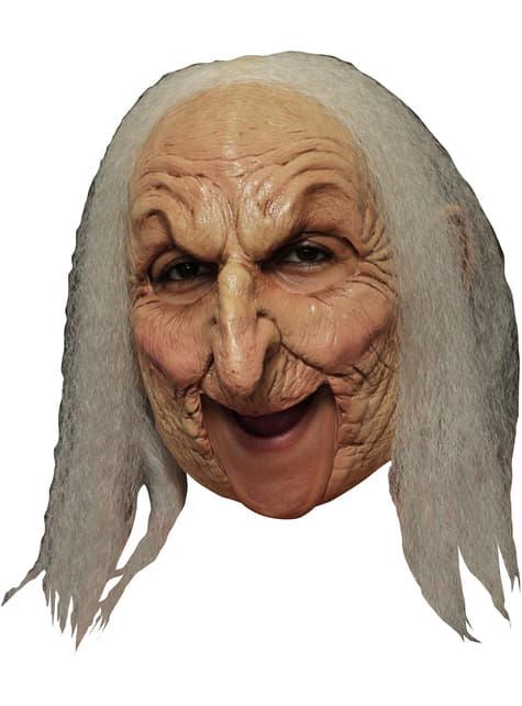 Máscara Old Witch Deluxe de látex