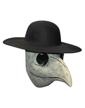 Maska lateksowa czarna zaraza w Wenecji