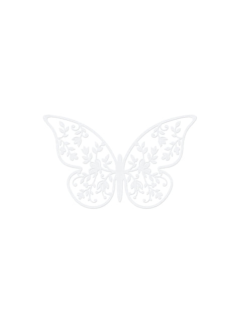 10 perhospöytäkoristetta kukilla, valkoinen