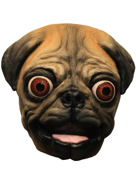Carlino dog latex mask