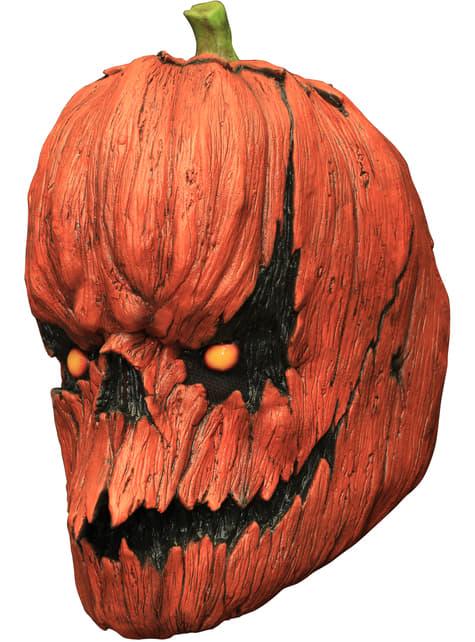 Pumpkin Jack latex mask
