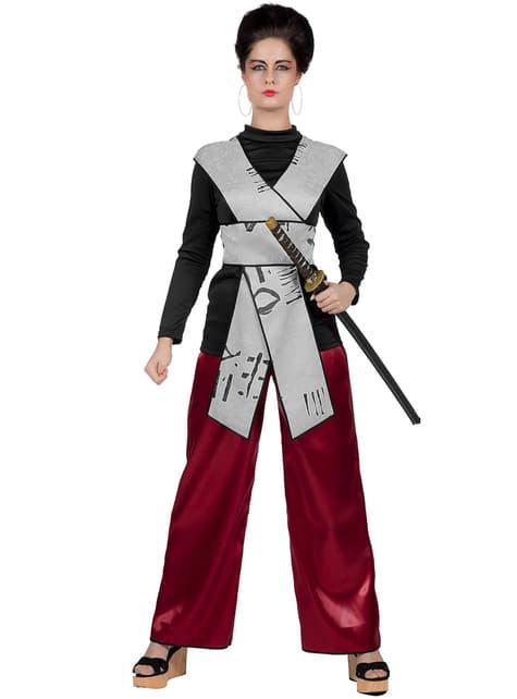 Samurai-asu naisille