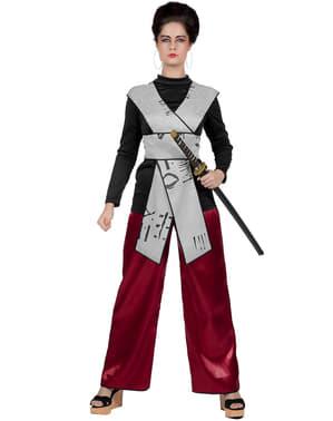 Disfraz de samurai para mujer