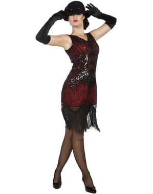 Disfraz de charlestón Años 20 elegante para mujer