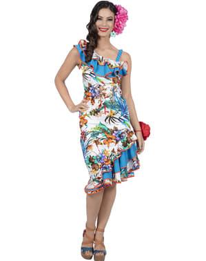Hawaiiaans kostuum voor vrouw