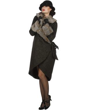 Kostým elegantní dáma ve stylu 20. Let pro ženy