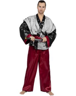 Maskeraddräkt samurai vuxen