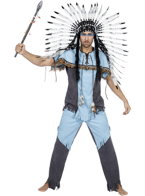 Indian Costume for Men in Blue