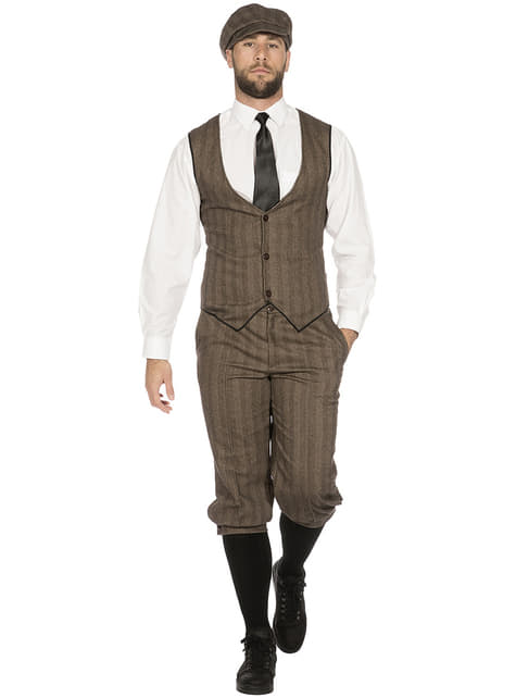 Disfraz de Peaky Blinders marrón