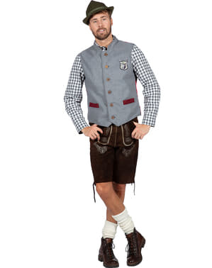 Oktoberfest Tyrolean Vest for Men