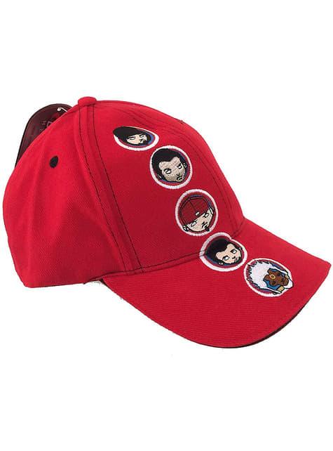Gorra de Limp Bizkit roja
