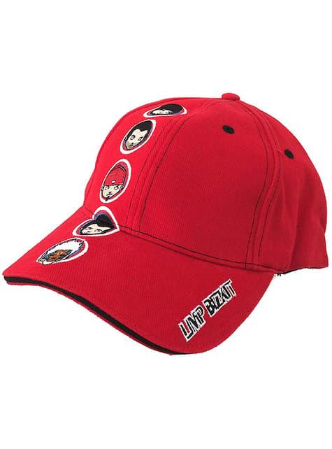 Gorra de Limp Bizkit roja - oficial
