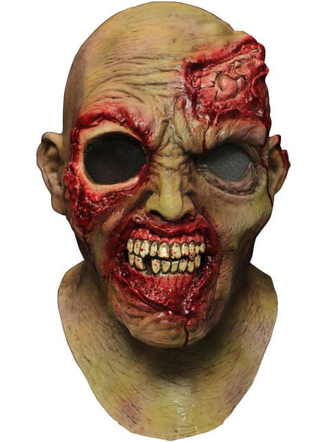 Máscara digital Wandering Eye Zombie de látex - para tu disfraz